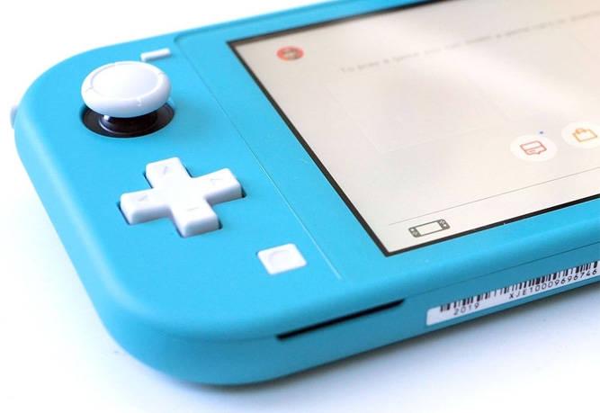 La consola Nintendo Switch Lite.