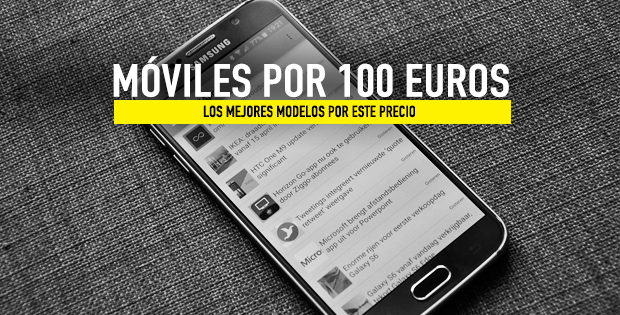 móviles por menos de 100 euros