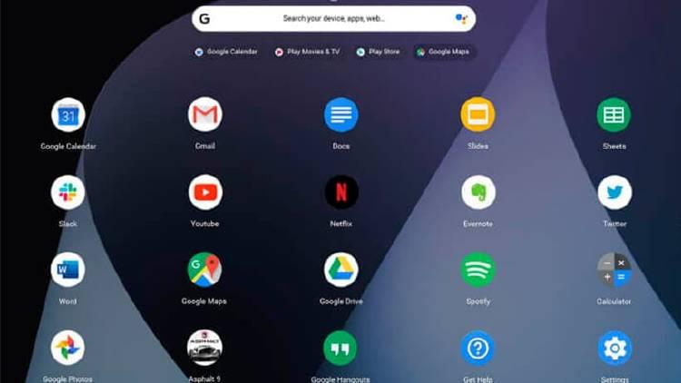 Chrome OS sistema operativo