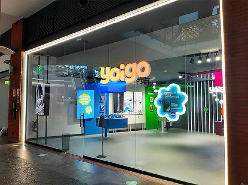 Nuevas tiendas Yoigo