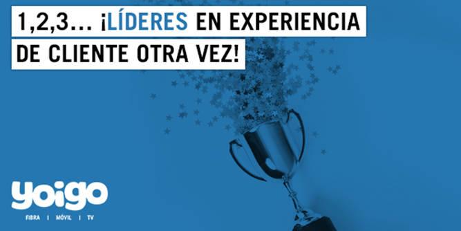 """Yoigo ha sido elegido el operador móvil español mejor valorado por los clientes, según """"El Índice Stiga de Experiencia de Cliente 2019 -ISCX-)"""" que elabora la consultora independiente Stiga. El informe, que está basado en 28.000 opiniones de clientes, evalúa y analiza los niveles de satisfacción y experiencia de cliente"""