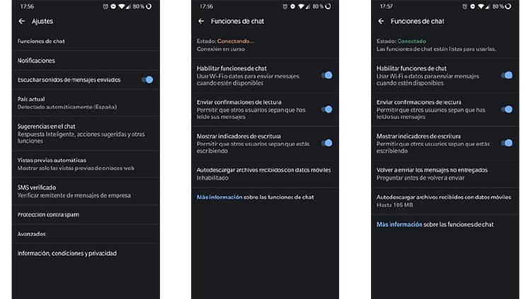 Cómo utilizar los mensajes RCS en cualquier móvil Android