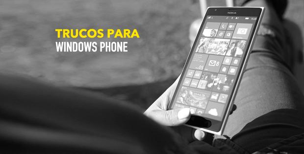 Trucos para Windows Phone