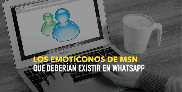Emoticonos que estaban en Messenger y deberían estar en Whatsapp