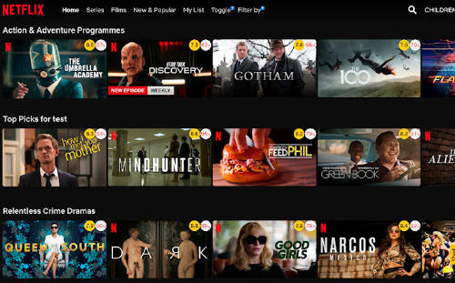 extensión Netflix Google Chrome