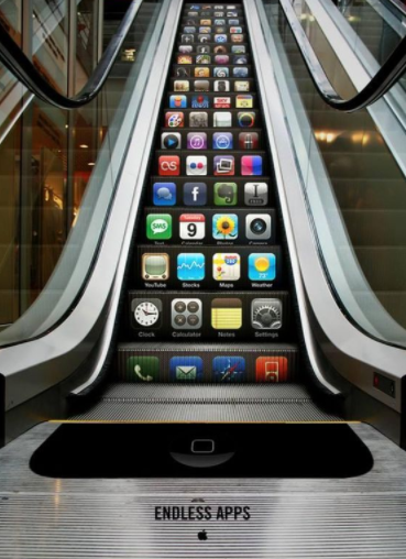 Escaleras de Apple