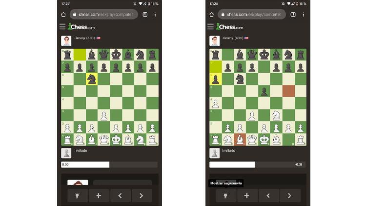 ajedrez online movil