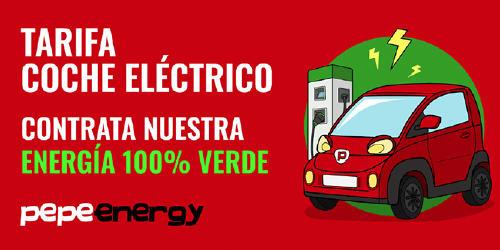pepeenergy coche eléctrico energía verde