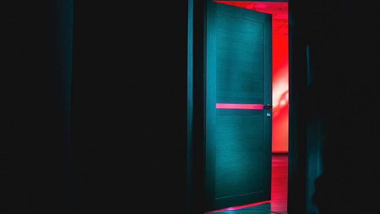 puerta evitar distracciones casa cuarentena teletrabajo