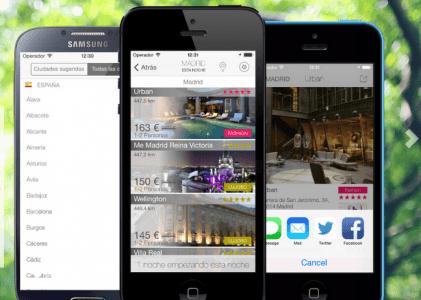 mejor app  para encontrar hoteles desde ipad