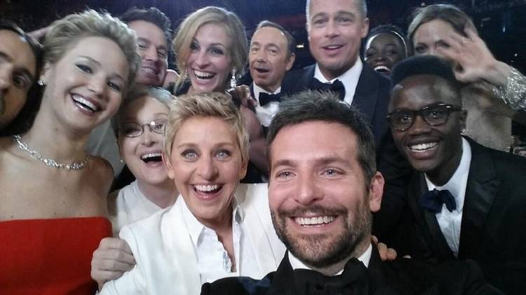 selfie mítico oscar