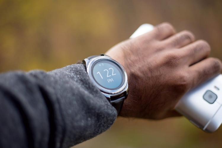Smartwatch en la muñeca