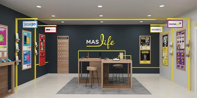 MASlife, la tienda multimarca del Grupo MASMOVIL, abre tienda en Bilbao