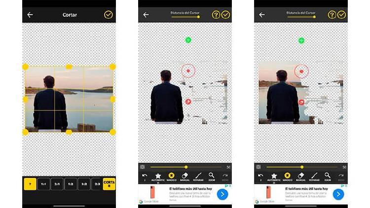 Mejores apps para quitar el fondo de una imagen en Android