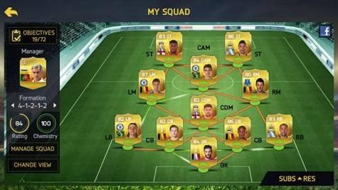 juego de futbol para móvil | FIFA Ultimate Team