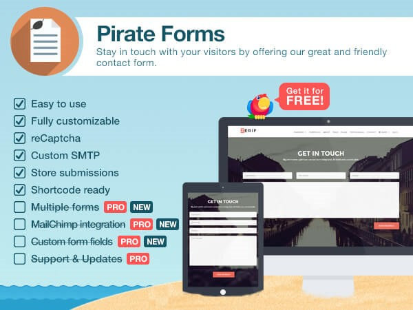 Pirate forms