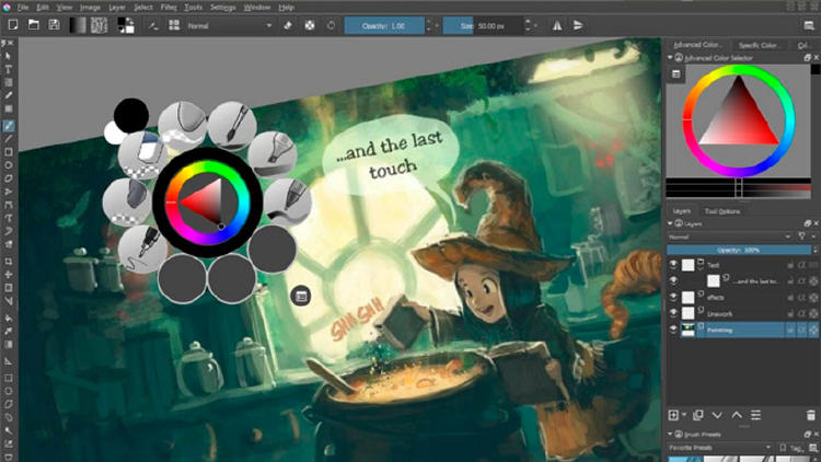 Krita, alternativa gratis a Photoshop