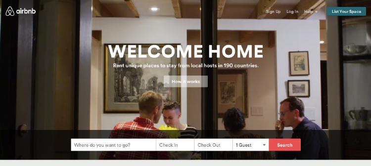 Airbnb | alquiler de apartamentos