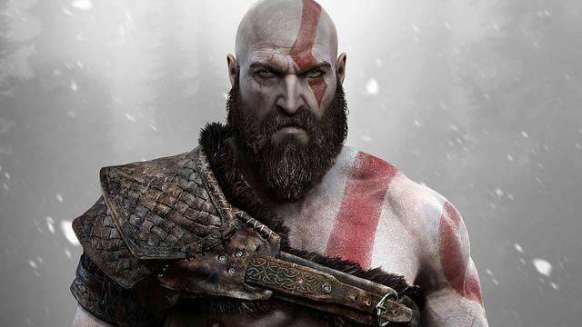 Imagen de Kratos en el nuevo God of War