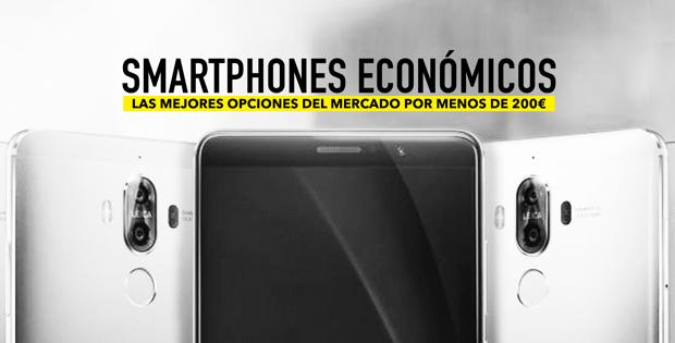 smartphones por menos de 200 euros