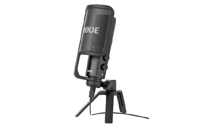 Rode NT microfono para podcast