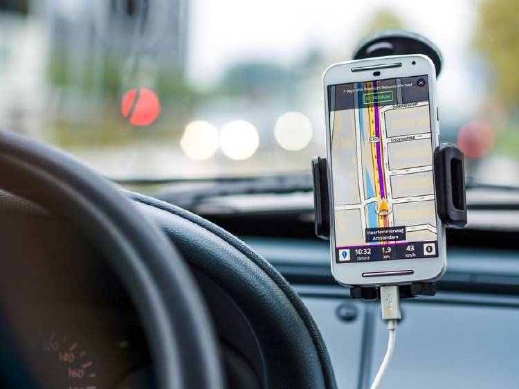 GPS y google maps