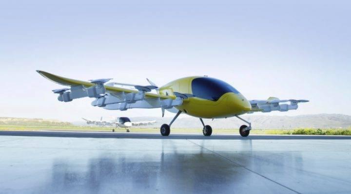 El taxi volador de Larry Page, fundador de Google