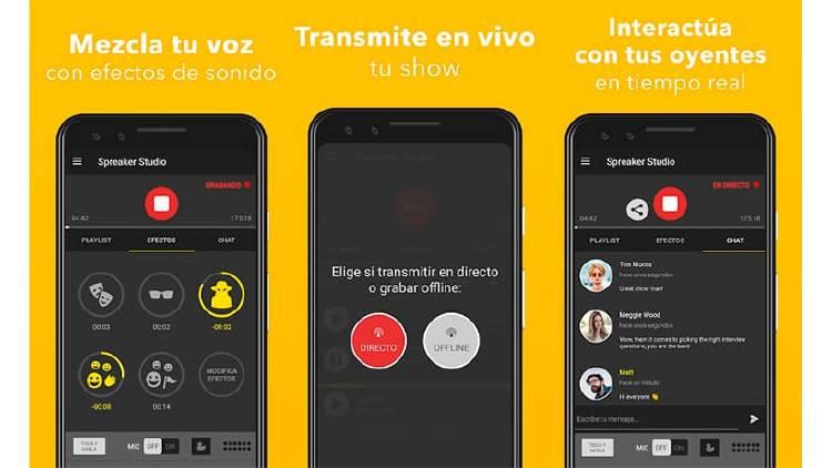 Apps para grabar y subir podcast desde tu móvil Android o iOS