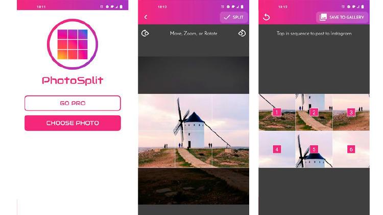 mosaico app instagram feed android ios