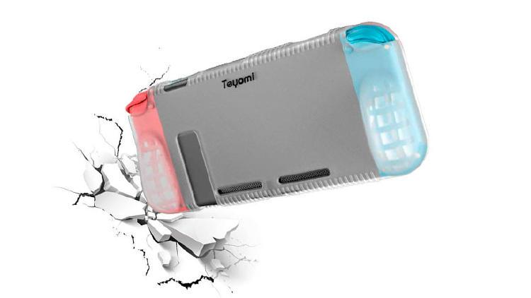 funda silicona nintendo switch accesorios