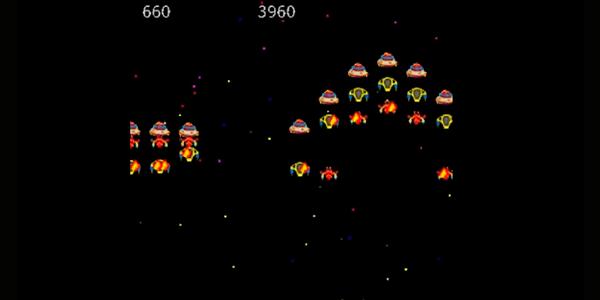 juego móvil retro | galatic-attack