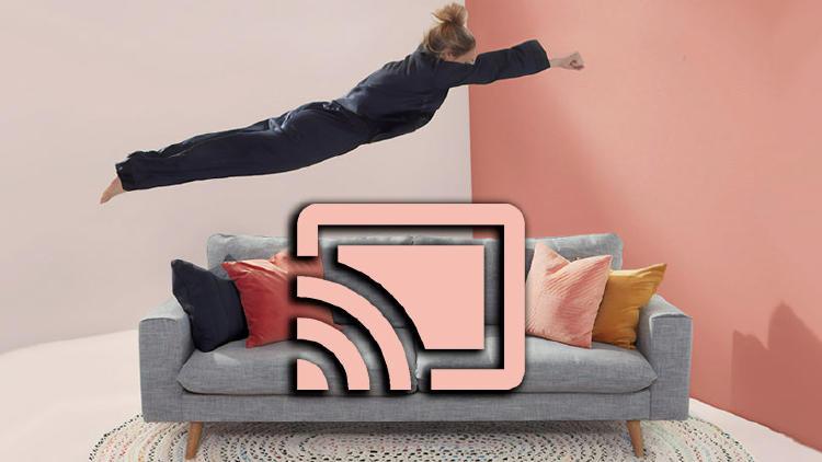 películas chromecast sofa