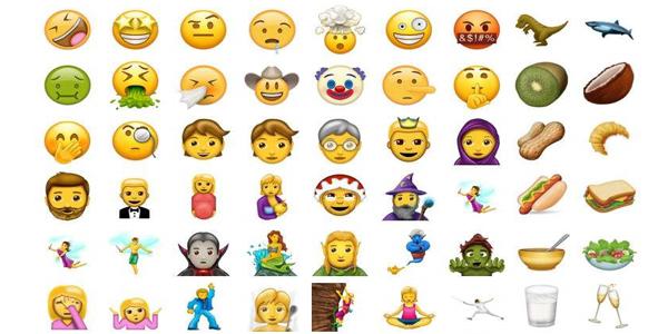 nuevos emojis verano 2017
