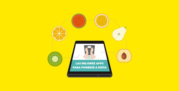 Las mejores apps paara hacer dieta