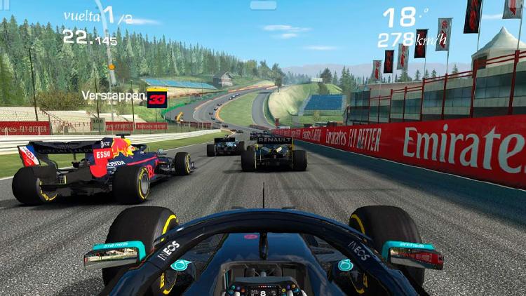 juegos carreras movil formula 1 real reacing