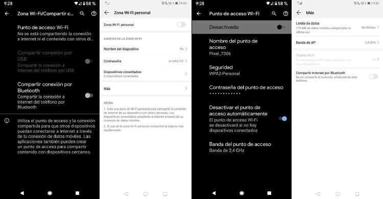 Convertir movil o tablet en router WiFi