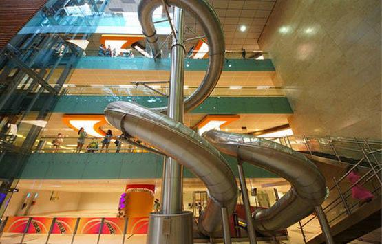 aeropuerto de singapur por dentro