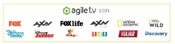 Canales incluidos en Agile TV de Masmovil Negocios