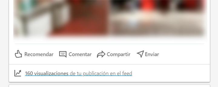LinkedIn publicaciones feed