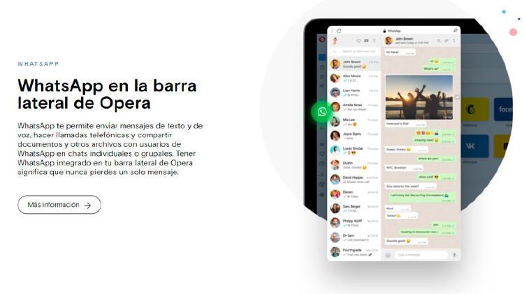 chat whatsapp opera