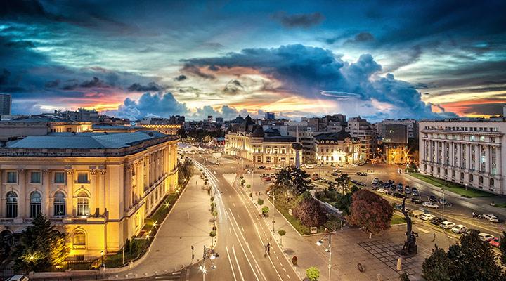 Bucarest destino