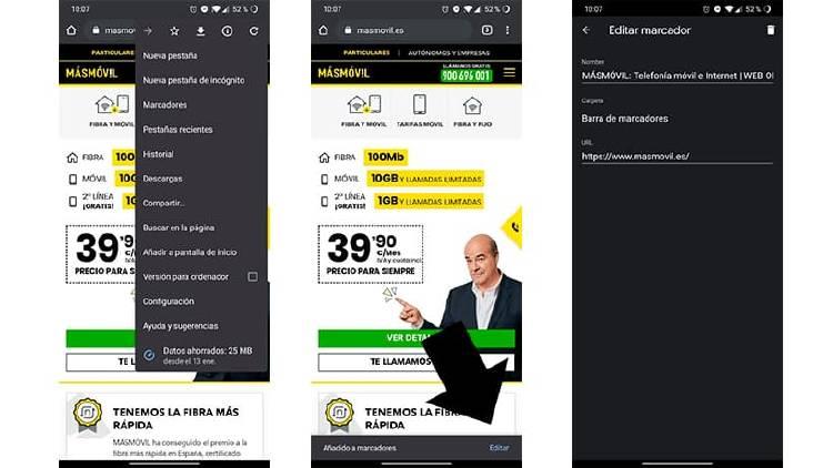 Cómo pasar páginas webs del móvil al ordenador en segundos