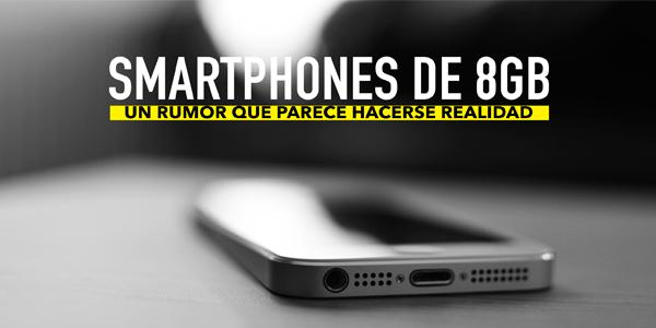 smartphones con 8GB de RAM