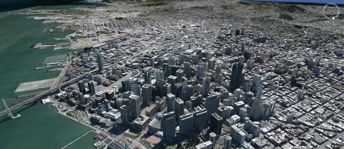 Google Earth 3D