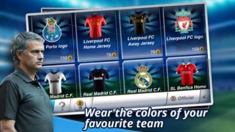 juego de fútbol para móvil | Mourinho en juego Top Eleven