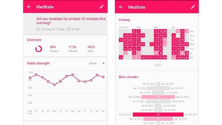 Apps para adquirir nuevos hábitos y conseguir tus propósitos