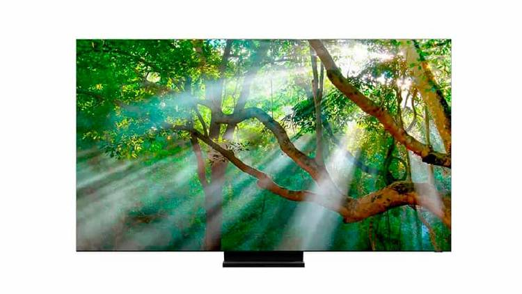 Televisor sin marcos samsung
