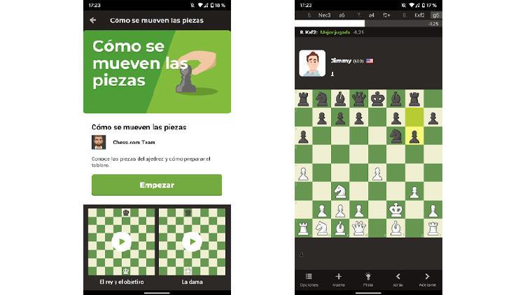 juego ajedrez movil