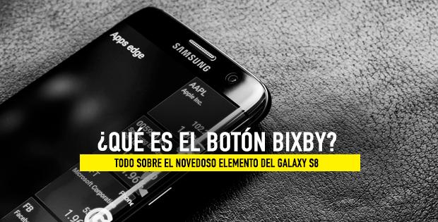 nuevo botón bixby galaxy s8