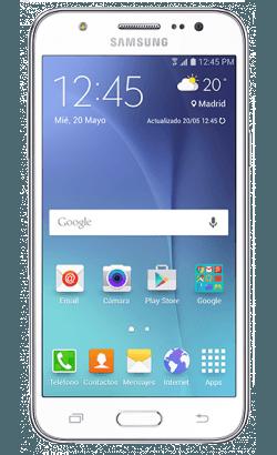 smartphone para trabajo | galaxy j5